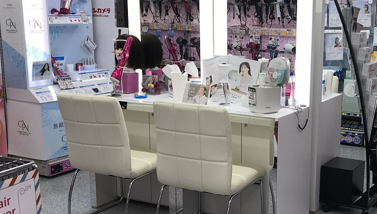 ヨドバシカメラ新宿西口本店のパウダースペース