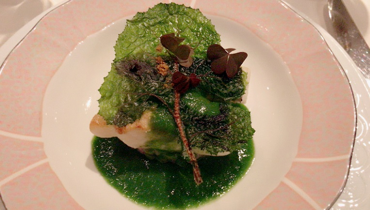 オテル・ドゥ・ミクニ 魚料理