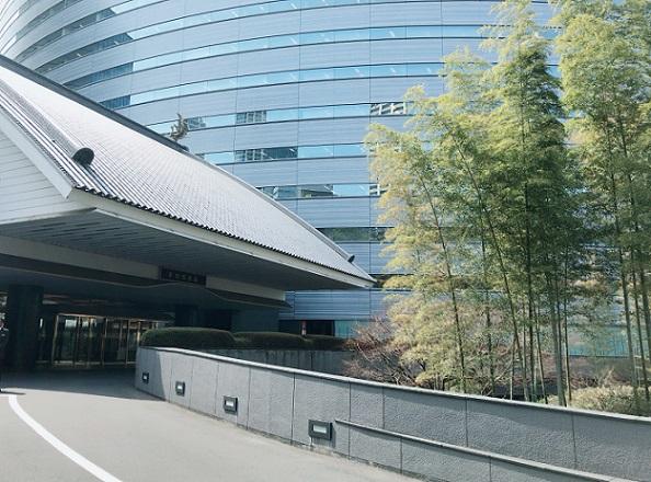 ホテル雅叙園東京 外観