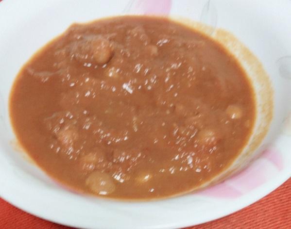 カルディ ひよこ豆のカレー チャナマサラ 中身