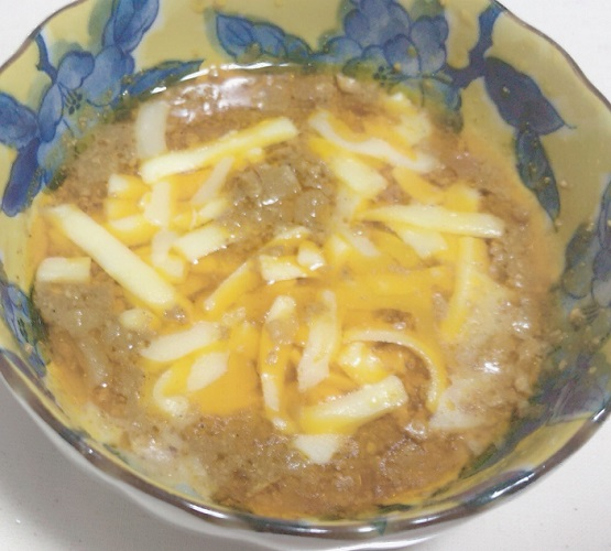 カルディ キーマカレーとチーズ