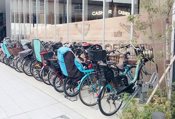 八王子オーパ 自転車駐輪場