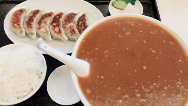 小松亭 上野町店 肉味噌ラーメン