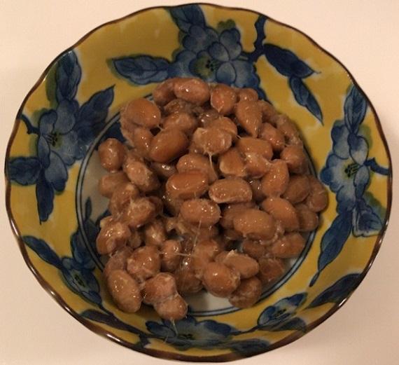 最上納豆 うまい納豆 大粒 かき混ぜる前