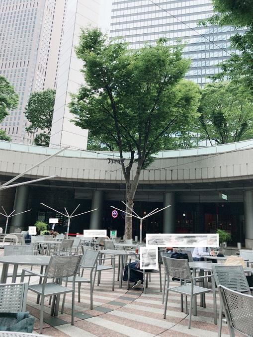 新宿アイランドタワーパティオ広場