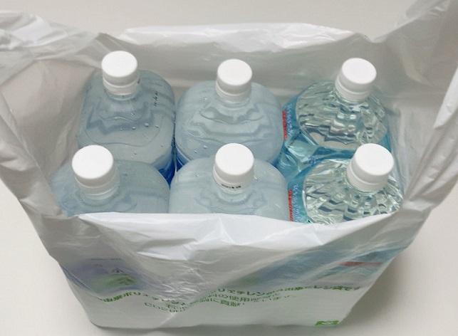 イオン レジ袋とペットボトル