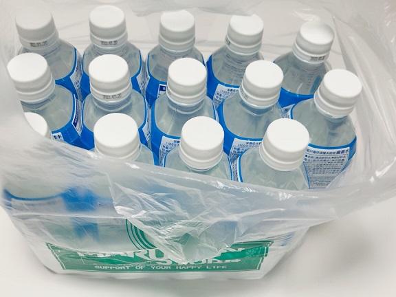 マルマン レジ袋とペットボトル