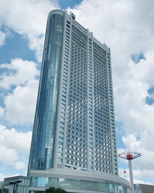 東京ドームホテル外観