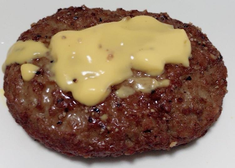 ナチョチーズの使い方アレンジチーズハンバーグ