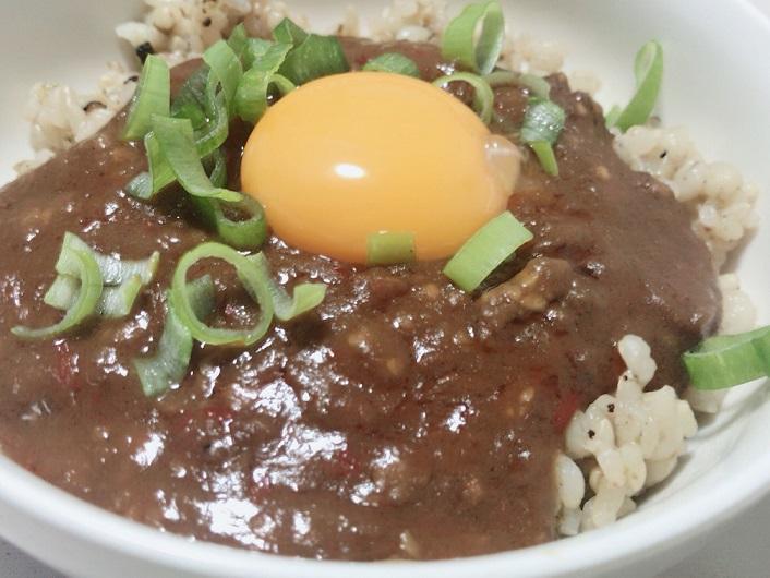 台湾カレーミンチの料理