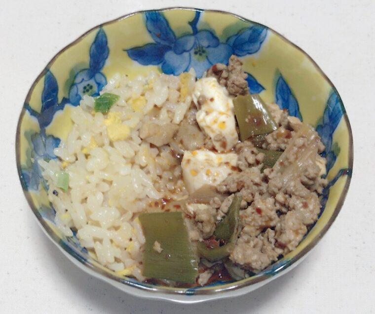 あおり炒めの焼豚炒飯 ヤマムロ 陳麻婆豆腐を使ったアレンジレシピ
