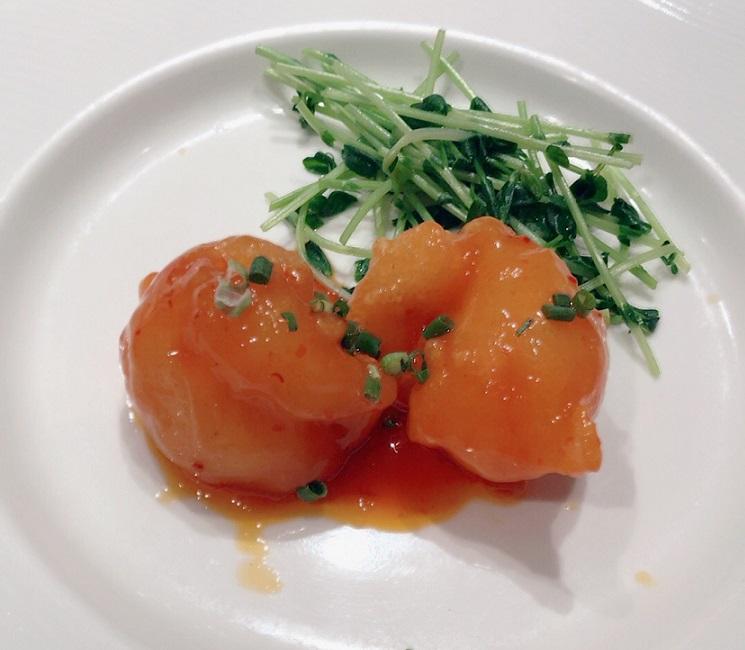 重慶飯店 麻布賓館 海老のチリソース煮