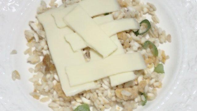 あおり炒めの焼豚炒飯 とろけるチーズを使った簡単アレンジ
