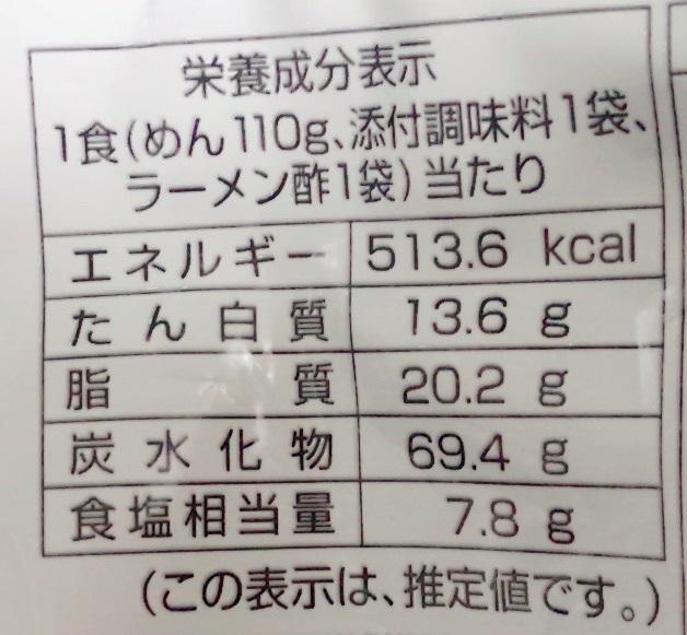 アイランド 食品横浜ラーメン 家系総本山 吉村家カロリー