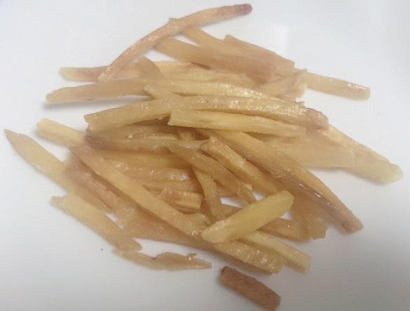 カルディ 南国製菓製造のもへじ 塩けんぴの中身