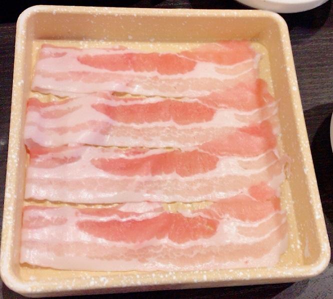 しゃぶ葉 豚ロースと豚バラの一皿のカロリー情報バラ