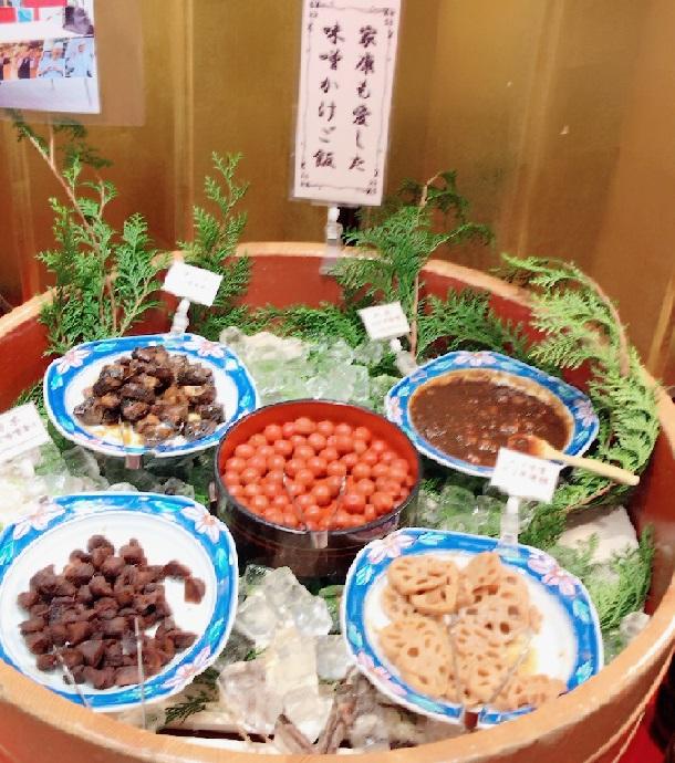 名古屋クラウンホテル 朝食バイキングのメニュー