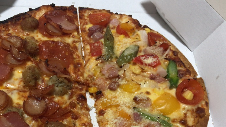 ドミノピザ シェフの気まぐれ野菜スペシャル