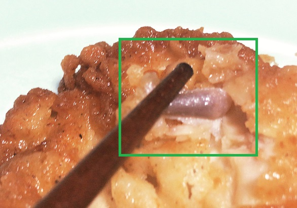 ケンタッキーフライドチキン キールの骨