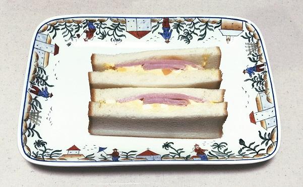 ロクアーチェ ハムタマゴ サンドイッチ