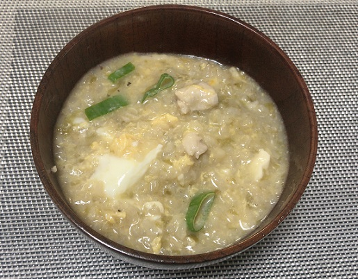 カルディ 鶏白湯鍋の雑炊
