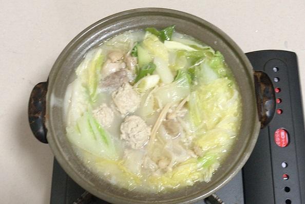 カルディ 鶏白湯鍋つゆ 出来上がり