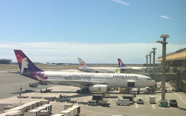 ハワイ空港