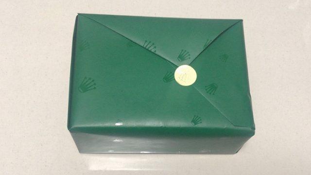 ロレックス包装紙