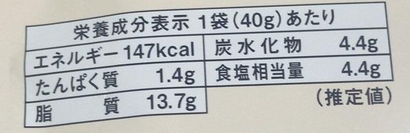 カルディ コムタンスープの素 栄養成分表示