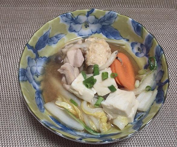 海老仕立て味噌鍋