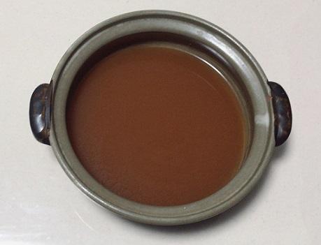 海老仕立て味噌鍋つゆの中身