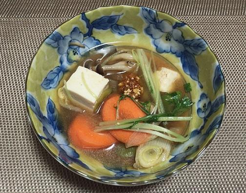海老仕立て味噌鍋つゆ 味変