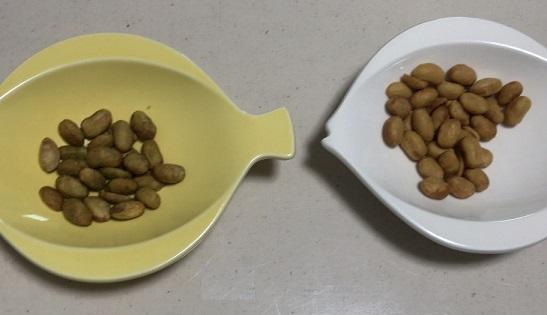 カルディ どらい納豆 うす塩味 わさび味