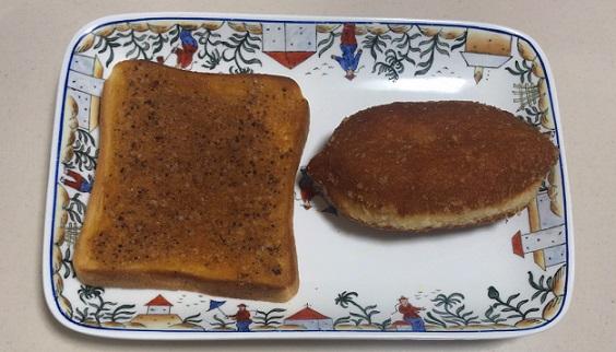 ぬって焼いたらカレーパンとカレーパン