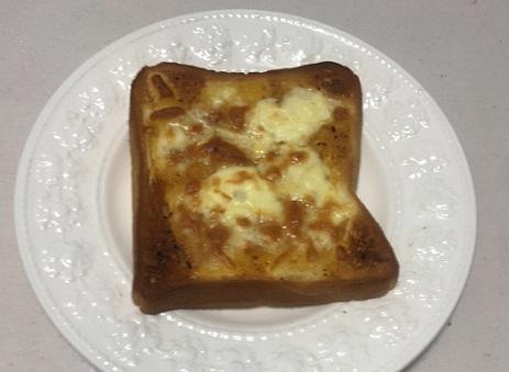 カレーパンペーストとチーズ