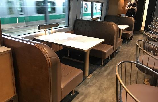 サフィール踊り子の食堂車・カフェテリア